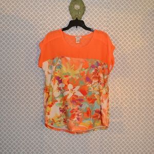 ISOLA FLORAL TOP